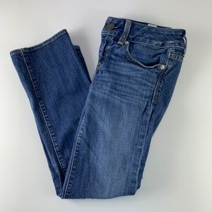 American Eagle Sz 0 Jeans Cropped Ankle 26 x 24.5